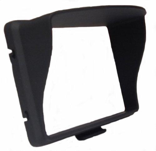 Sonnenblende/Blendschutz starr für GPS Navigationsgerät mit 5,0 Zoll (12,7cm) Display von TomTom, Garmin, Becker, Falk, usw.
