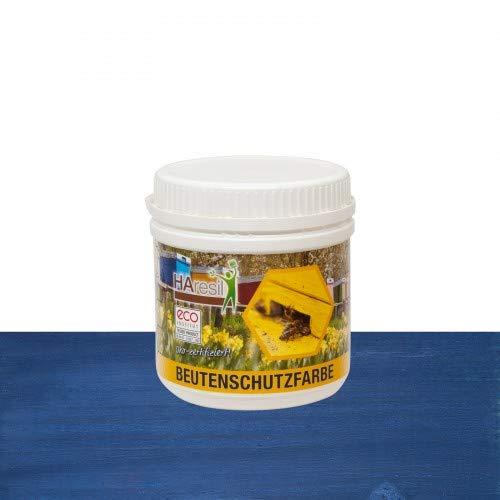 HAresil Beutenschutzfarbe Lasur blau Inhalt Gewicht 0,5 kg