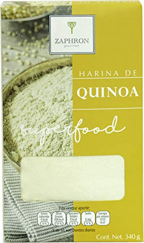 Zaprhon Gourmet, Zaphron Harina de Quinoa, 340 gramos