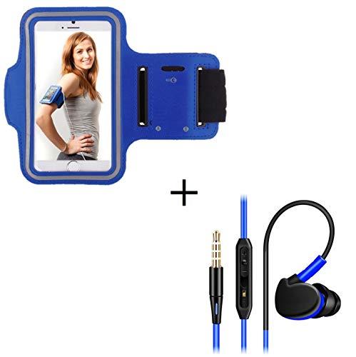 Shot Case Sportarmband für Sony Xperia X Compact, Blau