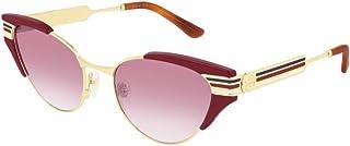 Gucci Women's Sunglasses Round GG0522S Red