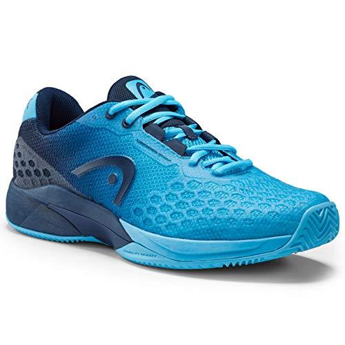 Head Revolt Pro 3.0 Clay - Zapatillas de Tenis para Hombre, 273079-065, Aqua/Dark Blue, 65