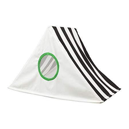-IKEA hemmahos Betthimmel mit Ein Dach und Windows, Schwarz und Weiß, 24, x39Weihnachtskarte X 19