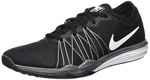 Nike Damen Dual Fusion TR Hit Hallenschuhe, Schwarz (Noir/gris Loup/gris Froid Métallique/Blanc), 41 EU