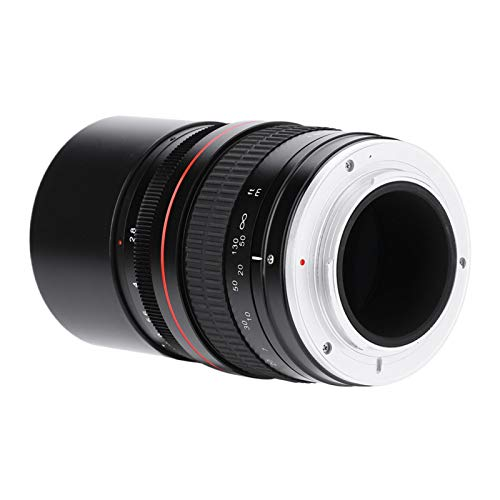 DAUERHAFT 9 runde Blendenblätter 135 mm DSLR-Teleobjektiv für DSLR(Nikon F Port)