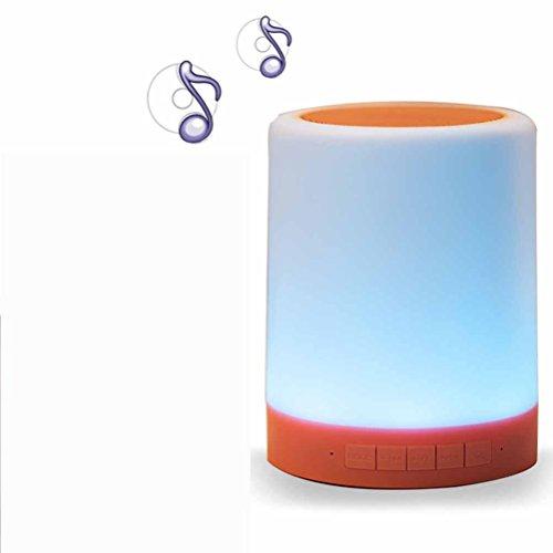 DD Kleurrijke sfeer, bureaulamp, kaartluidspreker, creatief thuisbed, hoofd, bluetooth-audio, begeleidende emotionele nacht licht luidspreker