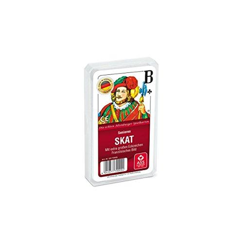 ASS Altenburger 22570009 22570009-Senioren Skat-Französisches Bild, Kartenspiel