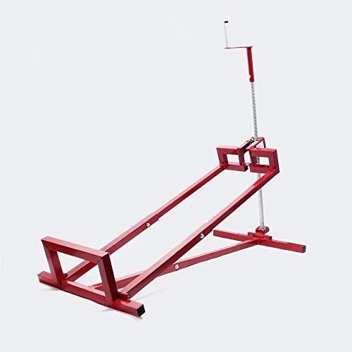 WilTec Dispositivo Elevador cortacésped Quad Tractor pequeño máx. 400 kg