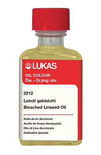 LUKAS gebleicht Lein l 50 ml Flasche, weiß, K22120050