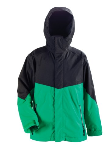 Nitro Kinder Jacke BOYS WHITE RIOT, GREEN/BLACK, XL, 1121-872854_80