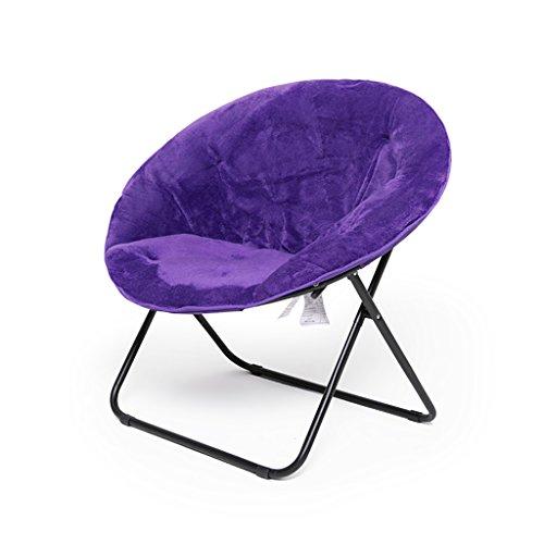 GYH Chaise pliante Pause déjeuner chaise longue fauteuil chaise de lune fauteuil inclinable chaise pliante chaise paresseuse canapé chaise inclinable - noir/jaune citron/violet / rose rouge @@