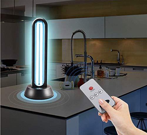 Cuarzo UV germicida lámpara de luz ultravioleta con ozono para matar las bacterias hongos virus zona residencial 99.9 control remoto 65W,65W