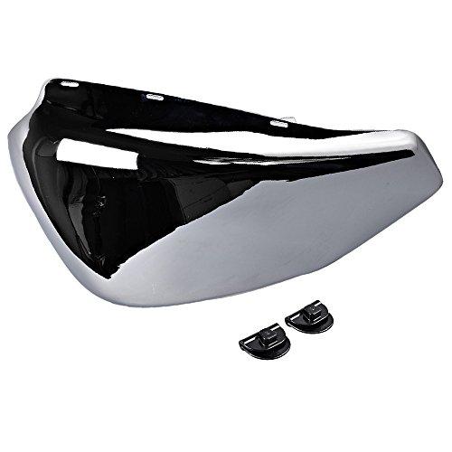 Chrome Left Side Battery Cover For 2004-2013 Harley Sportster XL 1200 883