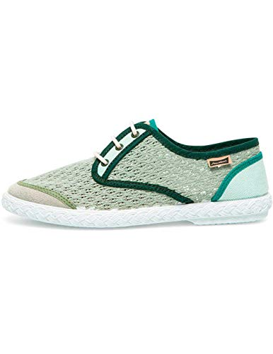 Zapato Maians Pepa Rejilla Verde Talla 36