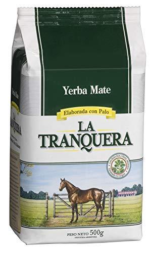 La Tranquera Yerba con Palo de Gusto Fresco, Infusión Antioxidante, Fuente de Vitaminas y Minerales, Mate, 500 Gramos