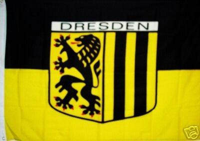 FRIP - Dresden Fahne Stadt Flagge Grösse1,50x0,90m Hissflagge