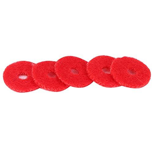 Juntas de anillo de piano rojas Prácticas juntas de anillo de piano para piano para pianistas