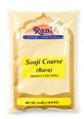 You'll LOVE our Sooji (Farina, Suji, Rava, Rawa, Semolina) Coarse Flour by Rani Brand--Here's Why: ❤️️ 100% Natural, No preservatives, Non-GMO, PREMIUM Gourmet Food Grade Flour. ❤️️ Rani is a USA based company selling quality foods for over 30 years,...