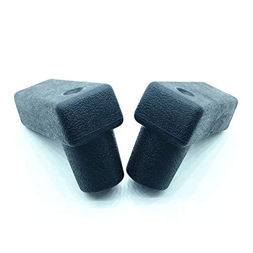 MeiZi Fit für Komatsu PC30/40/50/60/600-5 Bagger Zubehör Gehende Joystick Griff Push Stab Gummi Hohe Qualität Bagger Zubehör (Color : 1pair)