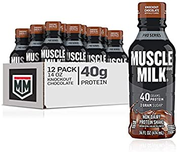12-Pack Muscle Milk Pro Series Protein Knockout Chocolate Shake