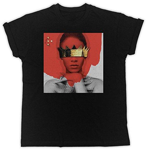 Uk print king Rihanna Red Poster Crown Cooler Spruch, Slogan, lustiges Design, Geschenkidee
