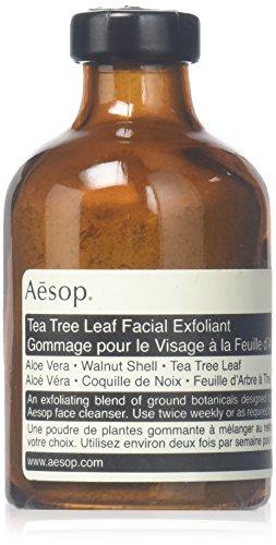 Aesop tea tree leaf facial axfoliant aesop