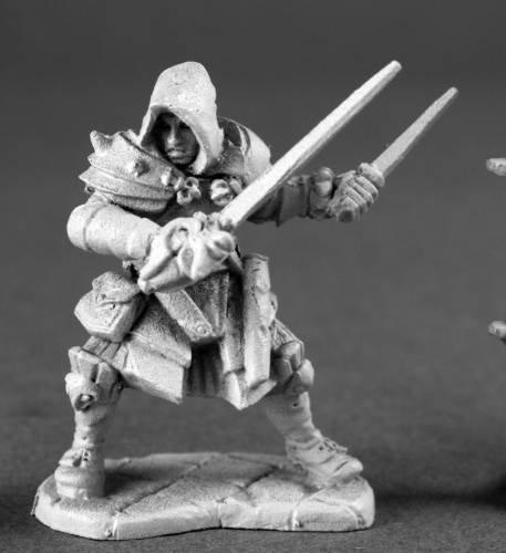 Drago Voss, Assassin Dark Heaven Legends Series Miniatures