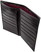 Maxwell Scott Men's Premium Quality Dress Wallet - Pianillo Black