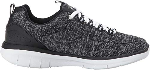 Skechers Damen Synergy 2.0 - Headliner Ausbilder, Schwarz (Black/White), 39 EU
