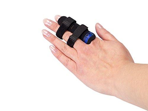 AFH-Webshop Finger Loop | Schutz für die Finger | Bandage | Sport | Fingerschutz | Handschutz (S)