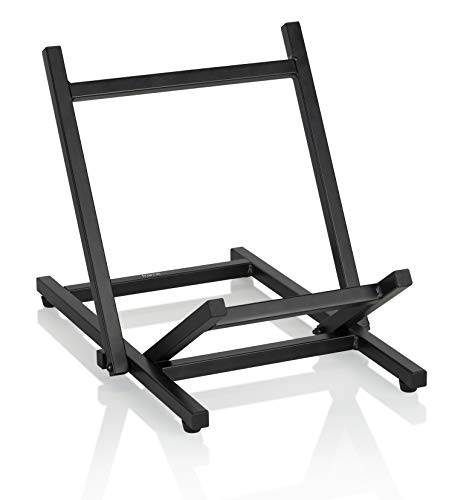 Gator Frameworks Low Profile Guitar Combo Amp Stand; Fully Collapsible (GFWGTRAMP100)