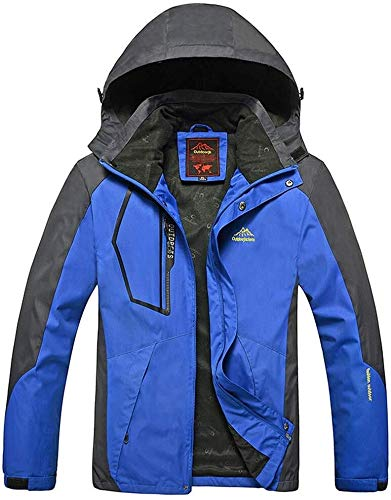 Hcxbb-10 Heren Outdoor Waterdichte Jassen -Single Wear-Ski Coat- Bestand Laag Dunne Sectie Bergbeklimmen Kleding Geschikt voor Wandelen Skiën Trekking Travelling Windbreaker Alpinisme
