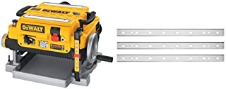 DEWALT DW735 13-Inch Two Speed Thickness Planer with DEWALT DW7352 Replaceable Knives for..