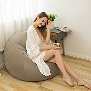 Beanless Bag Inflatable Chair, Air Sofa Outdoor Inflatable Lazy Sofa Chair,Washable Couch Bean Bag Chair Folding,for Organizing Plush Toys Or Memory Foam
