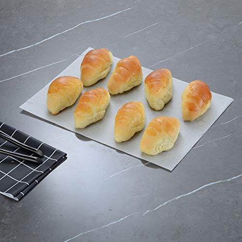 BALITY Herramienta para Hornear, -150 ℃ a + 230 ℃ Resistencia -150 ℃ a + 230 ℃ Bandeja para Hornear de Uso Continuo Antiadherente para Hornear Carne de Pastel de Pan