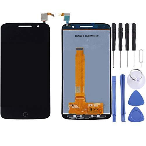 BEIJING LCDSCREEN/Pantalla LCD y Montaje Completo de digitalizador, para Alcatel One Touch Pop 2 Premium / 7044 (Color : Negro)