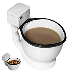 The perfect funny gift for any potty-humor and coffee lover in your life, for your quirky coworker, or for your own novelty collection. Makes an excellent stocking stuffer, gag gift, birthday present, or holiday gravy boat. Ideal for use as candy dis...