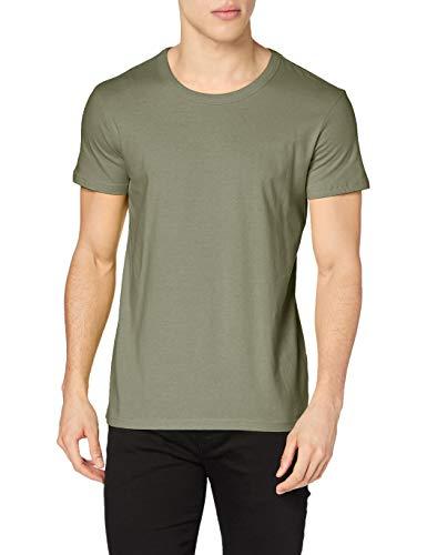 Stedman Apparel Ben (Crew Neck)/ST9000 Premium T-Shirt, Verde Militare, S Uomo