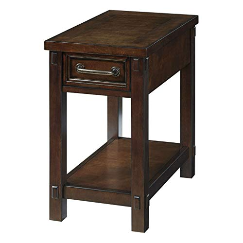 Coin, salon en bois massif rectangulaire petite table basse avec table basse à tiroir canapé côté créatif armoire chambre table de chevet bureau double table à thé rack table d'appoint