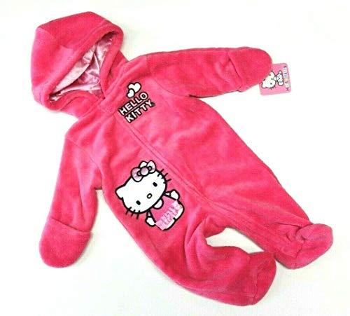 Hello Kitty Overall pink 68/74 Mädchen Anzug US Size 6-9 Month Girl Winter Schneeanzug Katze