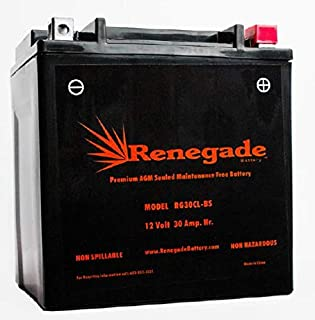 Jet-Ski Battery; RG30CL-BS; Sea-Doo 1500cc 2005, 2006, 2009, 2010, 2011, 2012, 2013, 2014 RXP/RXP X255 / RXT 215 / RXT 260; Part# WPX30CL-BS, CB30CL-BS, B30CL-B, BTX30CL-BS, PIX30CLBS-FS