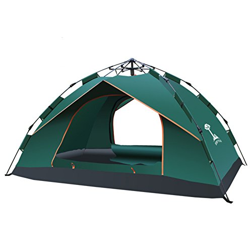 TY&WJ Automatic Camping tent Nstant setup with portable carry bag Climbing Outdoors Dome tent 1-2 person Tent Single layer-I 240x140x110cm(94x55x43inch)