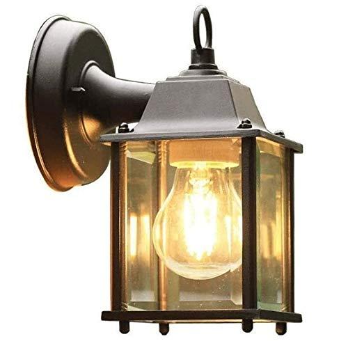 Lámpara de Pared Para Exteriores Wall impermeable al aire libre luz, exterior del accesorio de iluminación de montaje en pared, de diseño estilo con exterior de agua de vidrio for entradas, patios, po