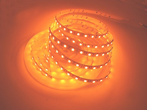LED Streifen Licht, Dreamcolor 16.4ft / 5M DC 12V 300Leds LED Strip, Hohe Helligkeits 5050 SMD Orange LED Flexible Streifen Lichtlampe für zu Hause Küche Festival Beleuchtung Dekoration