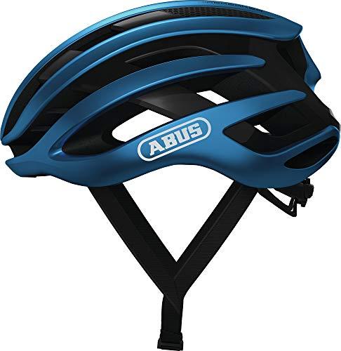ABUS AIRBREAKER Road Helm, Unisex Adulto, Steel Blue, M