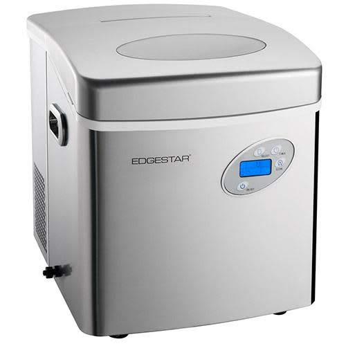 EdgeStar Large Capacity Portable Stainless Steel Ice Maker