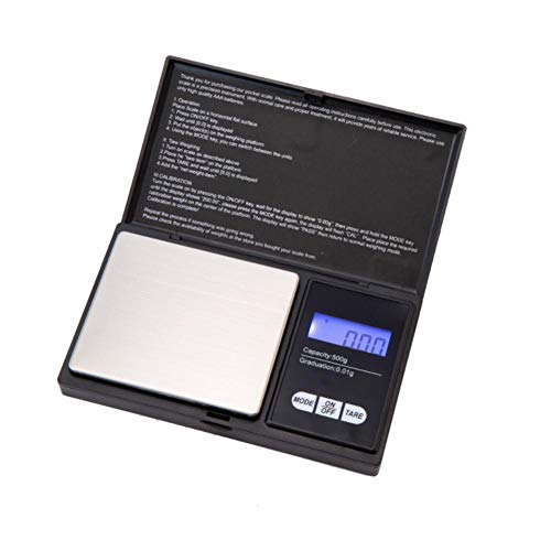 Sneeuweiland kleine keukenweegschalen, 200g/500g of 0,1g/0,01g precisie digitale weegschalen voor gouden sieraden 0,01 gewicht elektronische schaal A