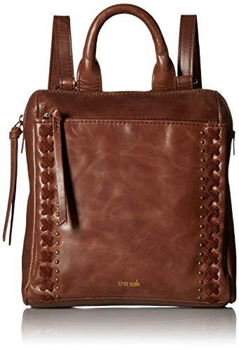 The SAK Unisex-Erwachsene Loyola Mini Backpack Rucksack, braun (teak), Einheitsgröße