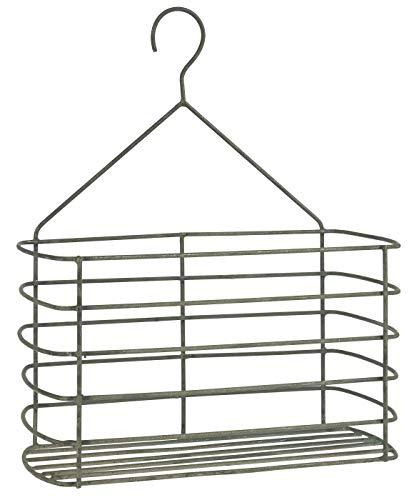 IB Laursen Wandkorb aus Metall zum hängen H30cm Metallkorb Regalkorb Aufbewahrungskorb 57057-18