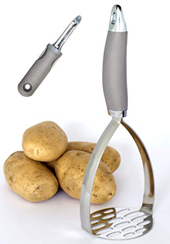 Squiz Best Potato Masher, Stainless Steel Cookware, Ricer for Your Perfect Mashed Potatoes